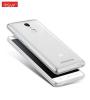 Тонкий прозрачный силиконовый чехол Msvii для Xiaomi Redmi Note 3 / Pro с заглушкой (+стекло)