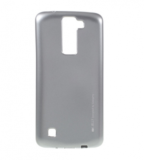 TPU чехол Mercury iJelly Metal series для LG K8 K350E