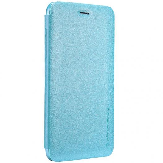 Кожаный чехол (книжка) Nillkin Sparkle Series для Apple iPhone 6/6s plus (5.5