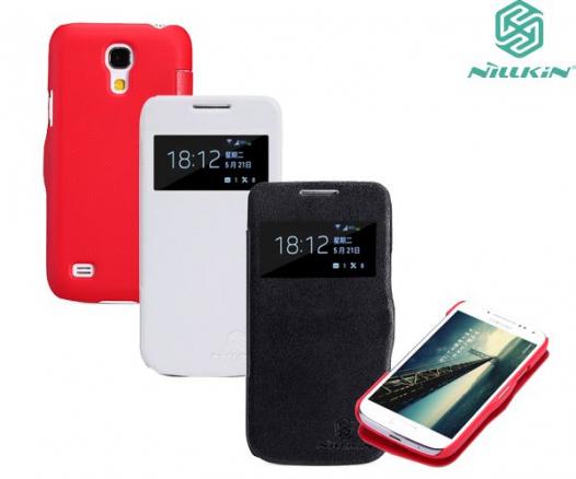 Кожаный чехол (книжка) Nillkin V series для Samsung i9192/i9190/i9195 Galaxy S4 mini