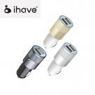 АЗУ IHAVE Bullet (2USB 12-24V 5V/2.1A)