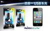 АЗУ Nillkin 3 в 1 2xUSB Car Charger + кабель для Apple iPhone 4/4S