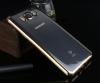 TPU чехол с золотой каймой для Samsung J710F Galaxy J7 (2016)
