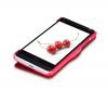 Кожаный чехол (книжка) Nillkin Fresh Series для HTC One mini / M4