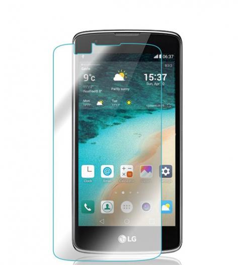 Защитное стекло Ultra Tempered Glass 0.33mm (H+) для LG K8 K350E (в упаковке)