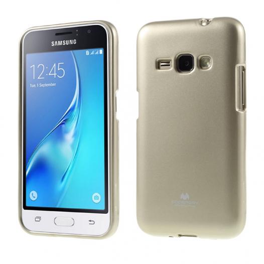 TPU чехол Mercury Jelly Color series для Samsung J120F Galaxy J1 (2016)