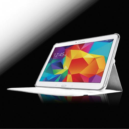 Кожаный чехол-книжка TTX (360 градусов) для Samsung Galaxy Tab 4 10.1