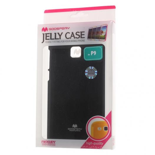 TPU чехол Mercury Jelly Color series для Huawei P9
