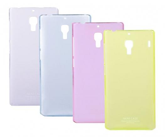 Пластиковая накладка IMAK 0,7 mm Color series для Xiaomi Redmi Note