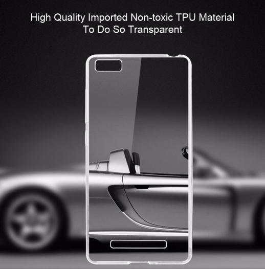 TPU чехол Ultrathin Series 0,33mm для Xiaomi Mi 4i / Mi 4c