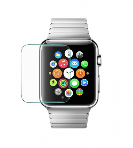 Защитное стекло Ultra Tempered Glass 0.33mm (H+) для Apple watch 38mm (карт. упак)