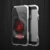 Алюминиевый бампер Luphie Dark Knight для Apple iPhone 5/5S/SE + наклейка из кожи на заднюю панель