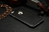 """Накладка из натуральной кожи с металлическим бампером Luphie для Apple iPhone 6/6s (4.7"""")"""