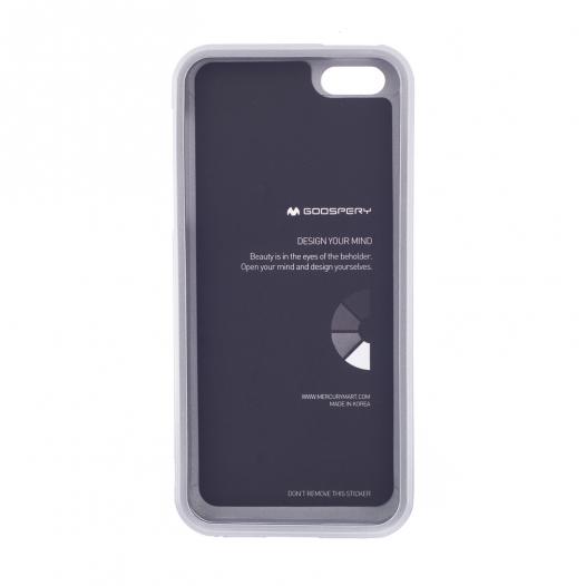 TPU чехол Mercury iJelly Metal series для Apple iPhone 5/5S/SE