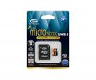 Карта памяти Team microSDXC UHS-1 64 GB Class 10 + SD adapter