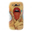 "TPU чехол IMD Print ""Bite me"" для Samsung i9300 Galaxy S3"