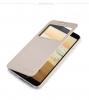 Кожаный чехол (книжка) Nillkin Sparkle Series для Samsung N7502/N7505 Galaxy Note 3 Neo