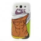 "TPU чехол IMD Print ""Muscle Man"" для Samsung i9300 Galaxy S3"