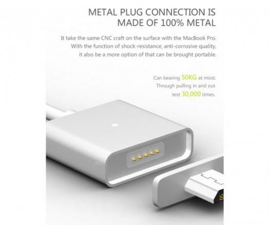 Магнитный кабель WSKEN X-cable Single Metal Series MicroUSB