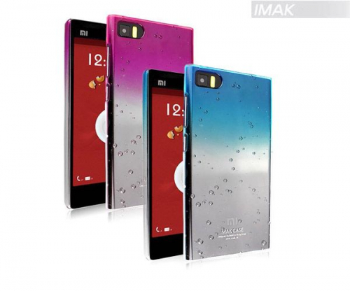 Пластиковая накладка IMAK Colorful Raindrop Series для Xiaomi MI3 (+ пленка)
