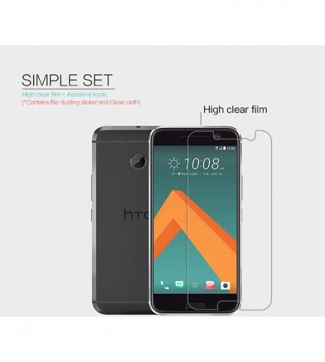 Защитная пленка Nillkin Crystal для HTC 10 / 10 Lifestyle
