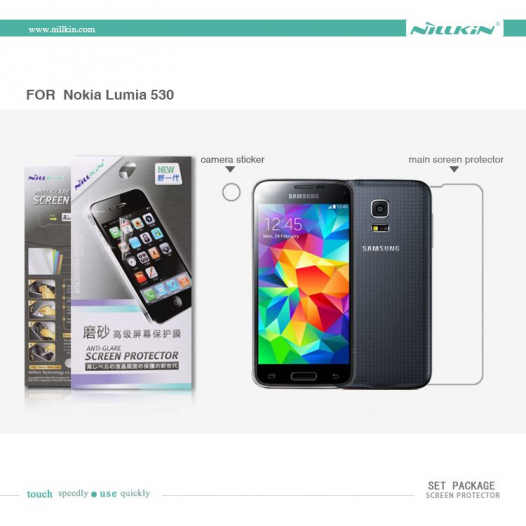 Защитная пленка Nillkin для Samsung G800H Galaxy S5 mini