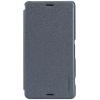 Кожаный чехол (книжка) Nillkin Sparkle Series для Sony Xperia Z3 Compact