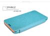 Кожаный чехол (книжка) Nillkin Sparkle для Microsoft Lumia 530