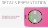 Кожаный чехол (книжка) Nillkin Sparkle для LG D724/D722 G3S