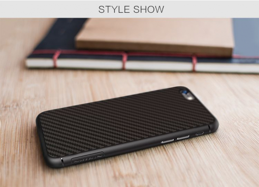 Пластиковая накладка Nillkin Synthetic Fiber series для Apple iPhone 6/6s (4.7