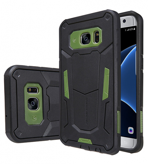 TPU+PC чехол Nillkin Defender 2 для Samsung G935F Galaxy S7 Edge