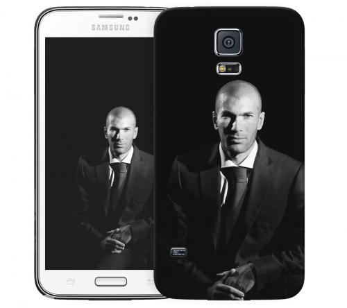 Чехол «Zinedine Zidane» для Samsung Galaxy S5
