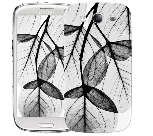 Чехол «Листики» для Samsung Galaxy s3