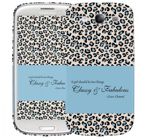 Чехол «Classy and Fabulous» для Samsung Galaxy s3