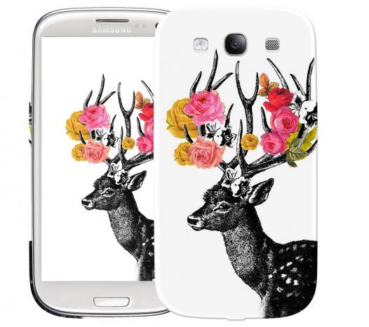 Чехол «Олень Весна» для Samsung Galaxy s3