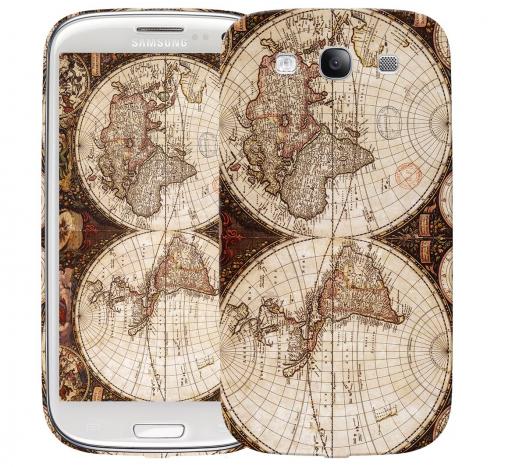 Чехол «Карта» для Samsung Galaxy s3