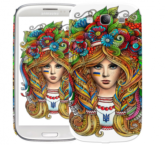 Чехол «Украинка» для Samsung Galaxy s3