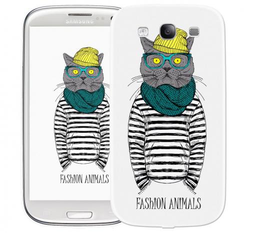 Чехол «Fashion Cat» для Samsung Galaxy s3