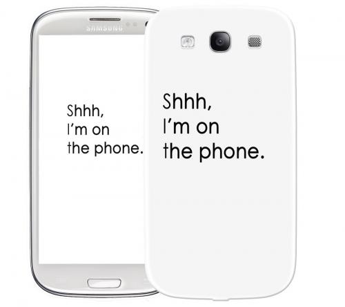 Чехол «Shhh...» для Samsung Galaxy s3