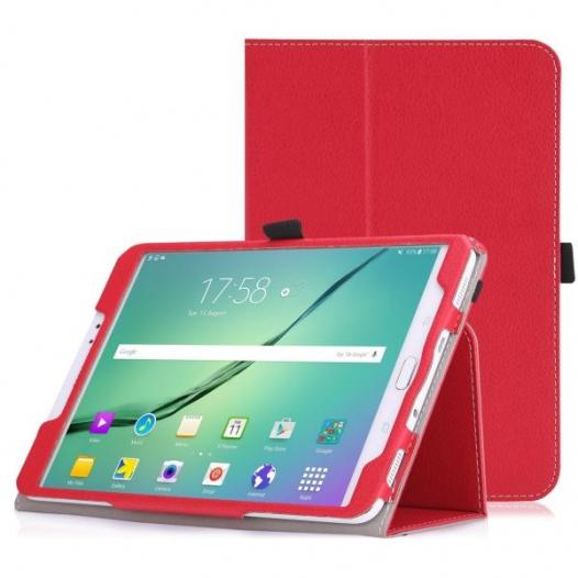 Кожаный чехол-книжка TTX с функцией подставки для Samsung Galaxy Tab S2 8.0