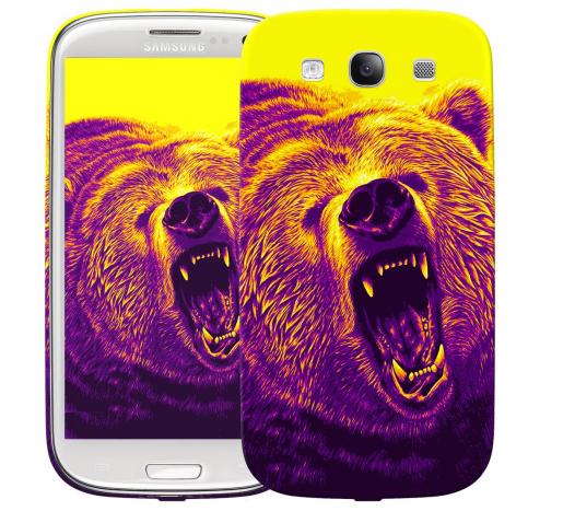 Чехол «Гризли» для Samsung Galaxy s3