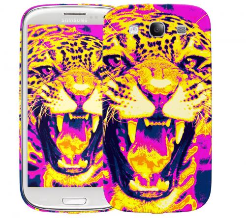 Чехол «Леопард» для Samsung Galaxy s3