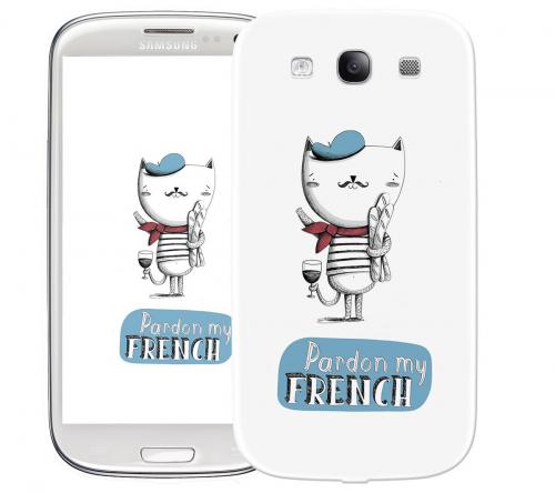 Чехол «French» для Samsung Galaxy s3