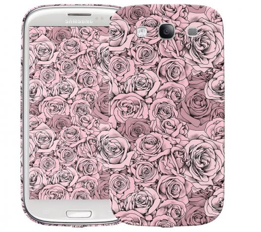 Чехол «Paper Rose» для Samsung Galaxy s3