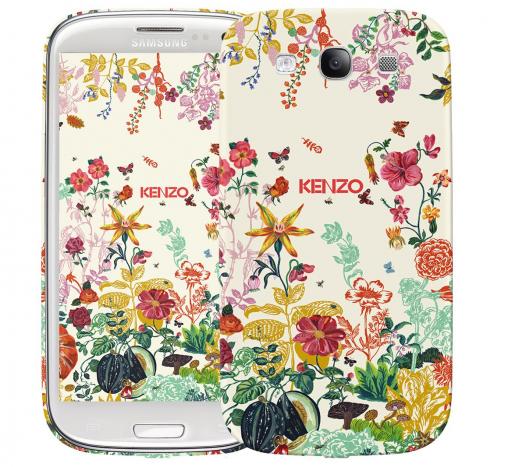 Чехол «Kenzo Flowers» для Samsung Galaxy s3