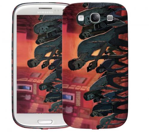 Чехол «Zombie phone» для Samsung Galaxy s3
