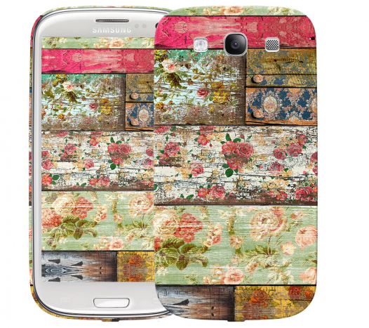 Чехол «Wood» для Samsung Galaxy s3