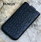 Кожаный футляр Mavis Classic CROCODILE 154x80 для Samsung N7100 Galaxy Note 2/Lenovo S920
