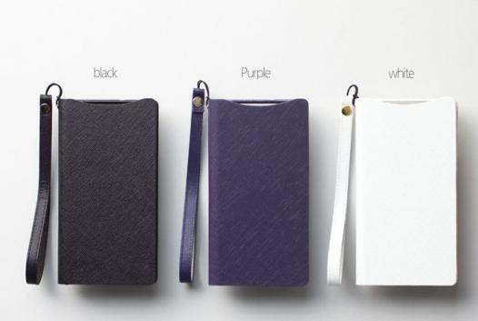 Кожаный чехол Zenus Prestige Minimal Diary для Sony Xperia Z2 (L50)