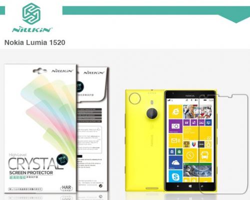 Защитная пленка Nillkin Crystal для Microsoft Lumia 1520